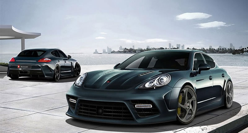 Custom Porsche Panamera By Mansory Looks Like A Beast