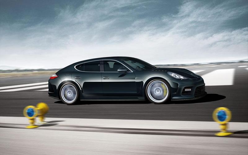 Custom Porsche Panamera by Mansory 3
