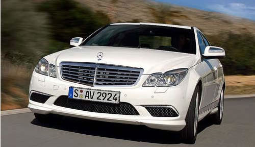 Mercedes Wins Best Luxury Saloon Car And Best Sports Car For 2009 2
