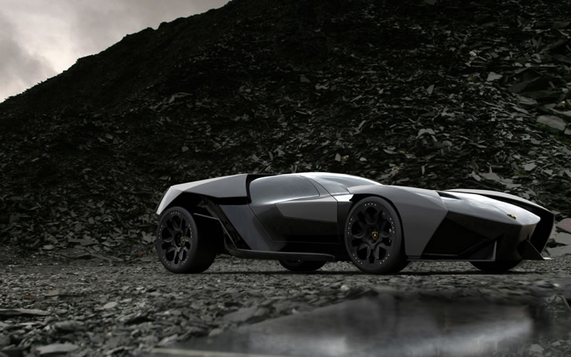 lamborghini ankonian concept design is a batmobile. Black Bedroom Furniture Sets. Home Design Ideas