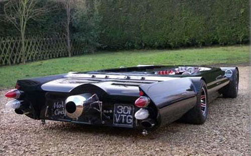 World's Smallest Car Looks Like A Flattened Batmobile 1
