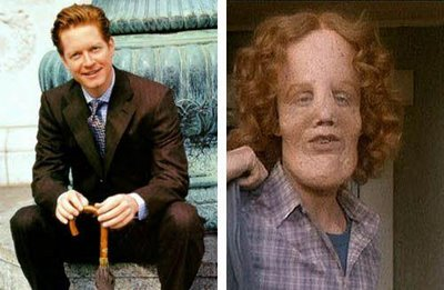eric stoltz before and after his makeup for the film mask