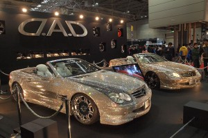 Custom Mercedes-Benz SL600 Covered With Swarovski Crystals