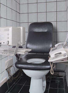 Desk toilet image
