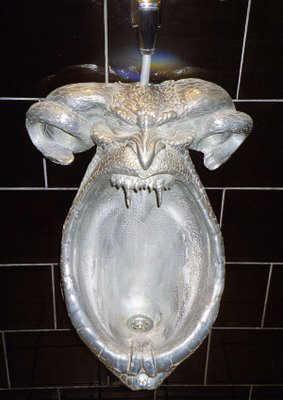 Evil toilet image