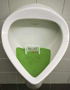 Football toilet image