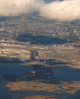 aproach view of jfk airport