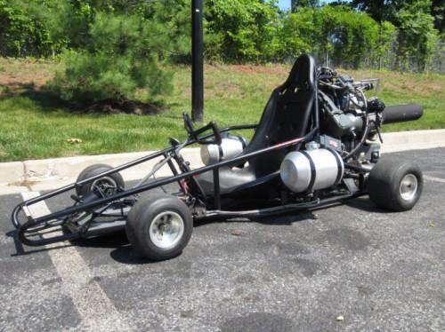 Jet Powered Go Kart Up For Grabs On Ebay