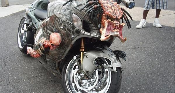 Predator Motorcycle - COOL OR CRAZY