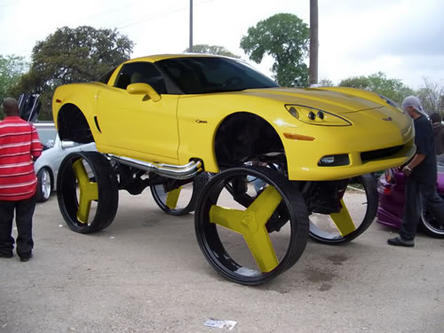 corvette donk car