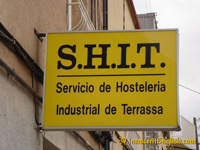funny hostel sign