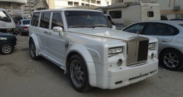 Nissan Patrol With Rolls-Royce Phantom Face &#8211; COOL OR CRAZY?