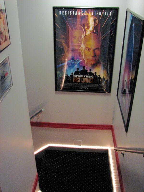 Guy Builds Star Trek Themed Home Cinema 4