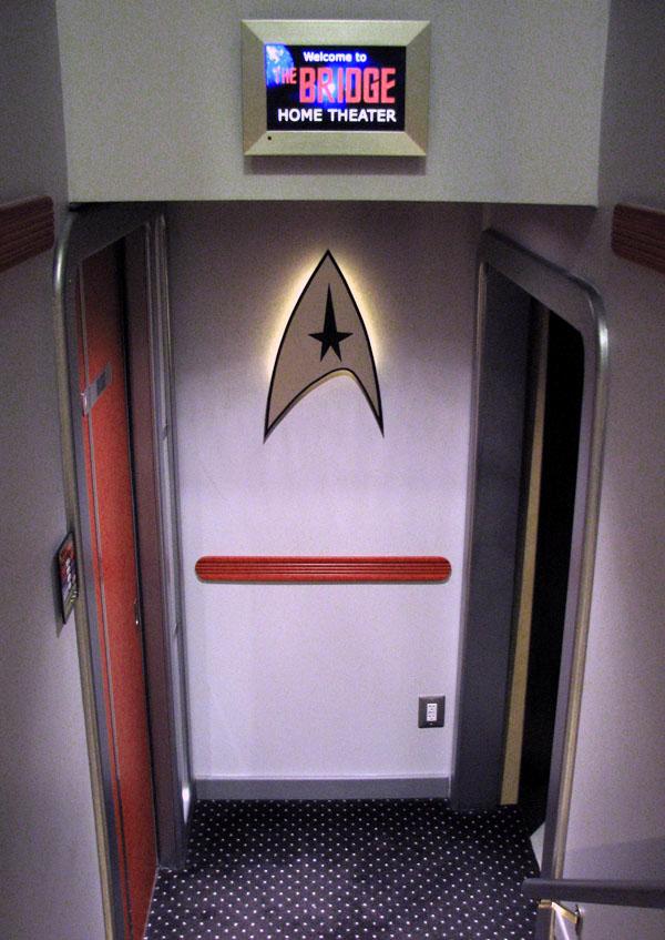 Guy Builds Star Trek Themed Home Cinema 5