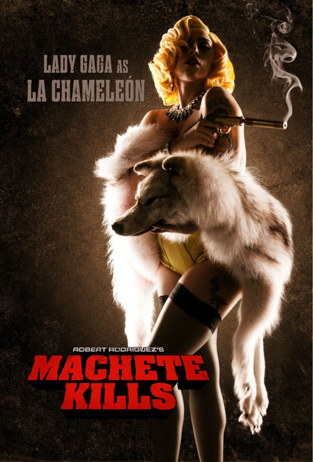 Lady Gaga - Machete Kills - poster