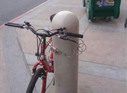 Bike Locking Fails, Can You See Whats Wrong With These Pictures?