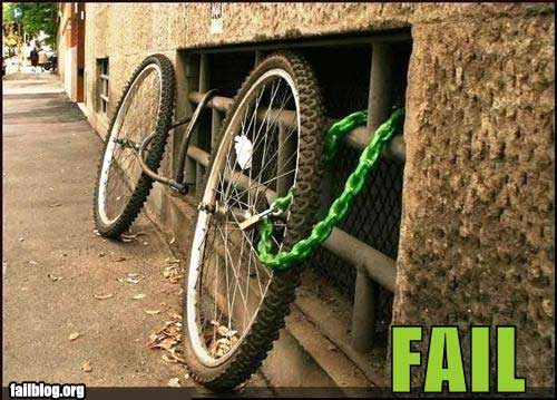 Whats Wrong With News >> Bike Locking Fails, Can You See Whats Wrong With These Pictures?