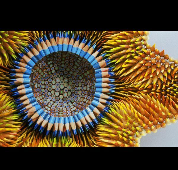 Amazing-art-sculptures-created-from-pencils-13