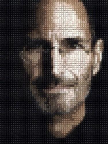 Australian Artist Creates Portraits Of Famous People Using