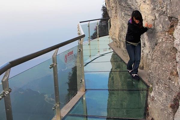 China Mountain Glass Walkway