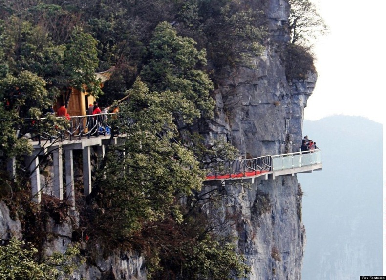 China Mountain Glass Walkway Are You Brave Enough To