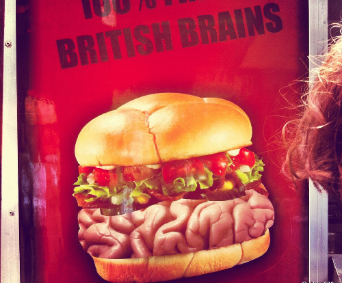 Gory Gourmet Food Truck Sells Brain Burgers And Zombie Food  5