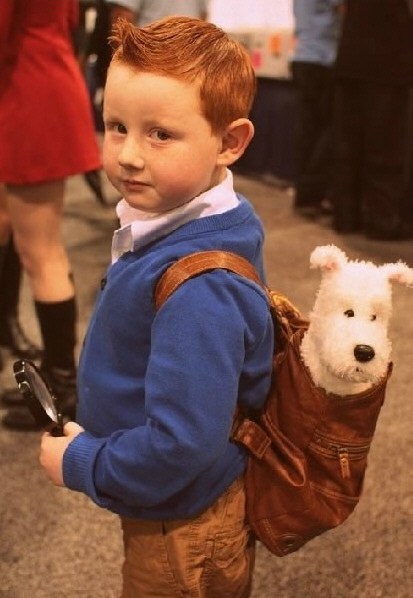 Kids Dressed As Famous Movie Characters 5