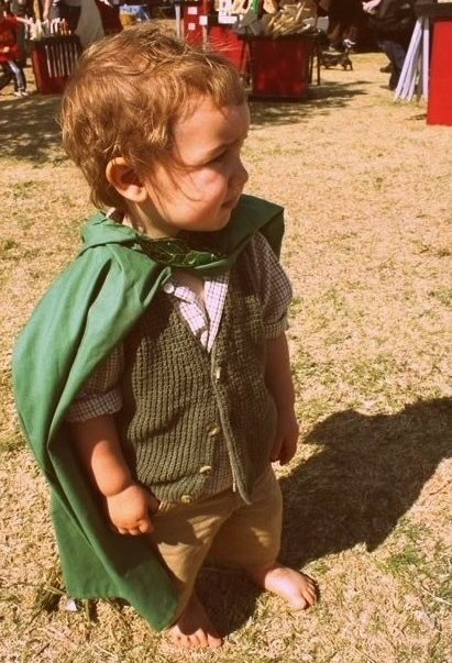 Kids Dressed As Famous Movie Characters 7