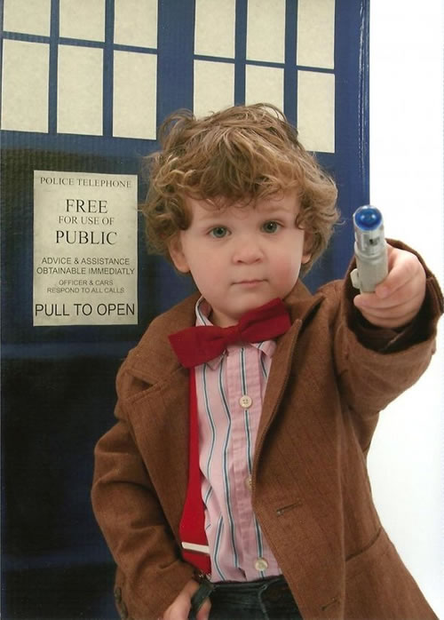 dr who kid