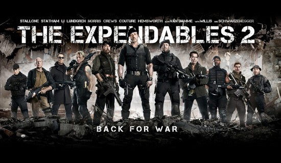 The Expendables 2 Movie Clip – Airport Scene