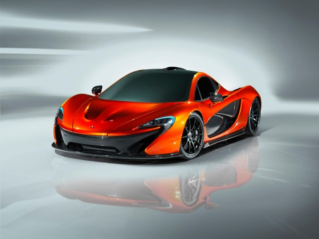 First Pictures Of The McLaren P1 1