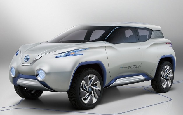 Nissan TeRRa Concept Car Unveiled Ahead Of 2012 Paris Auto Show 1