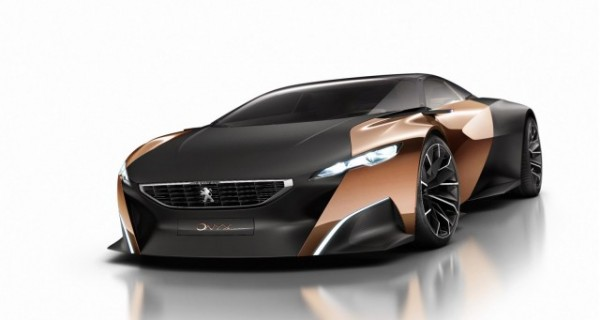 Peugeot Onyx Supercar Hybrid Concept Car Preview