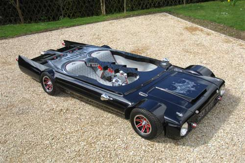 World's Smallest Car Looks Like A Flattened Batmobile 01