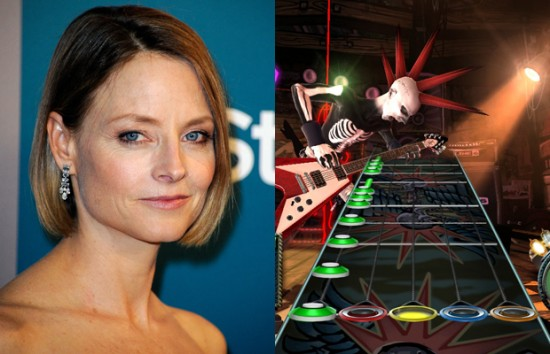 Jodie Foster – Guitar Hero