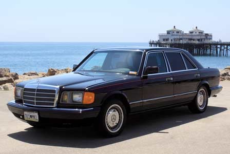 Michael Jackson Mercedes Benz 500 SEL Up For Auction