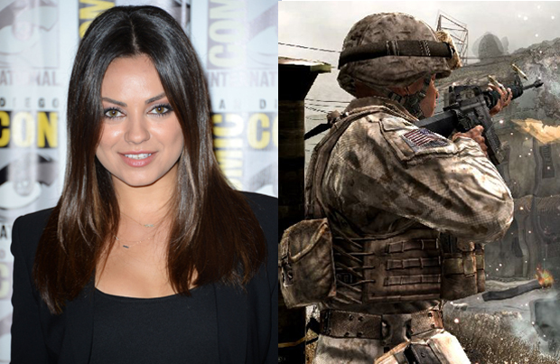 Mila Kunis – Call of Duty