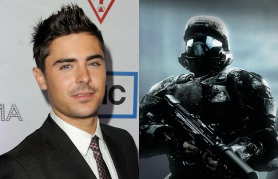 Zac Efron – Halo 3