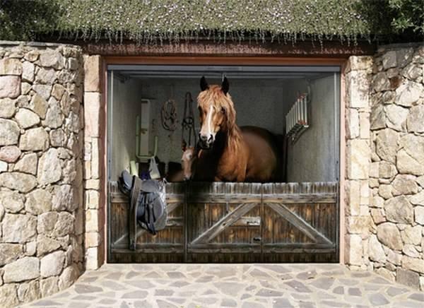 11 Awesome Garage Doors 3