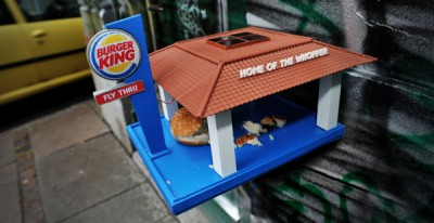 Burger King Bird feeder Fly Thru