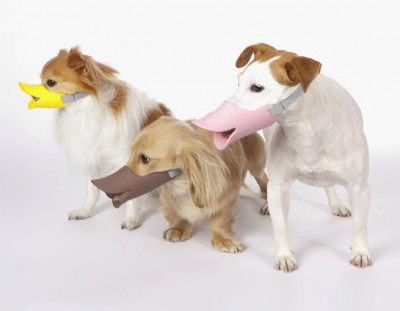 Duck Bill Shaped Dog Muzzle
