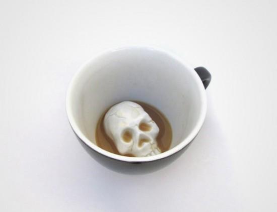 skull hidden creature cup