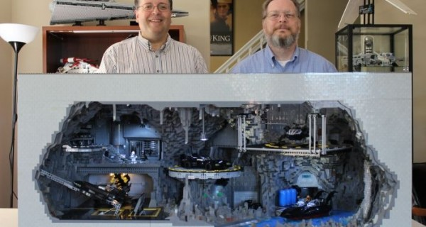 Most Amazing Lego Batcave Replica Ever