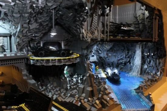 Most Amazing Lego Batcave Replica