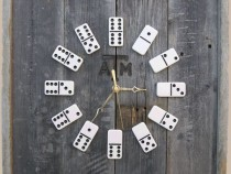 COOL OR CRAZY? Domino Clock