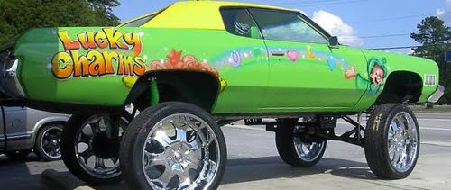 lucky charms donk car
