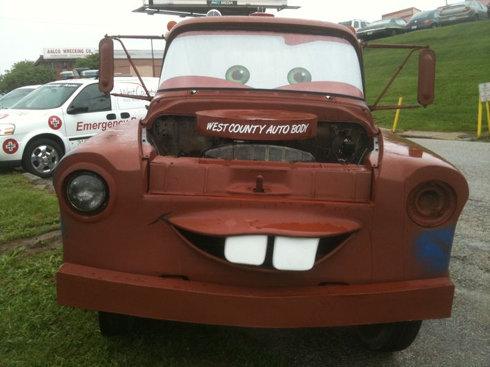 real pixar cars 2