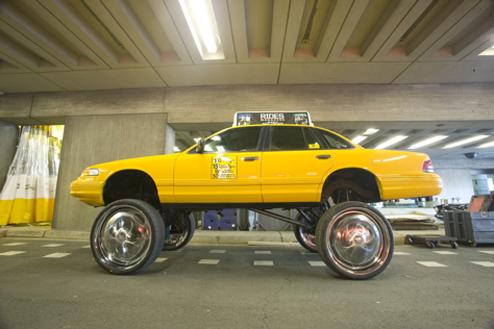 taxi donk car