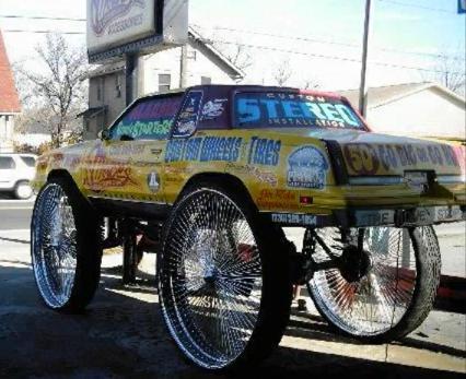 top 10 craziest donk cars 10