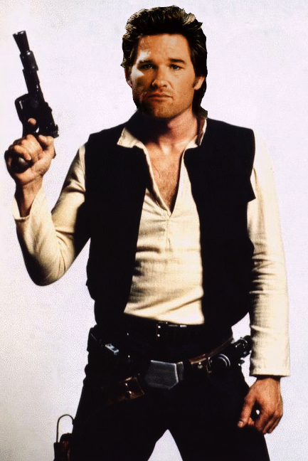 Kurt Russell as Han Solo